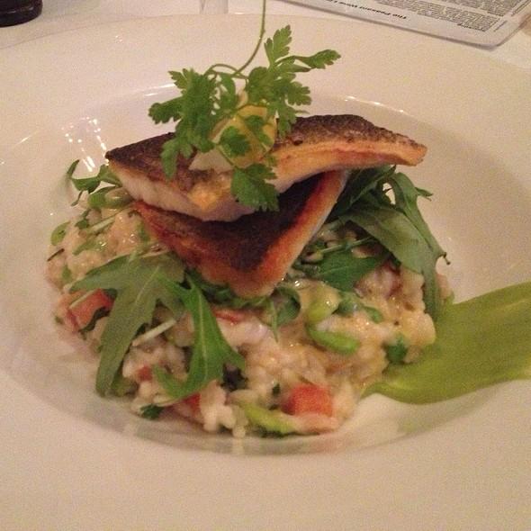 Sea bass - The Peasant, London