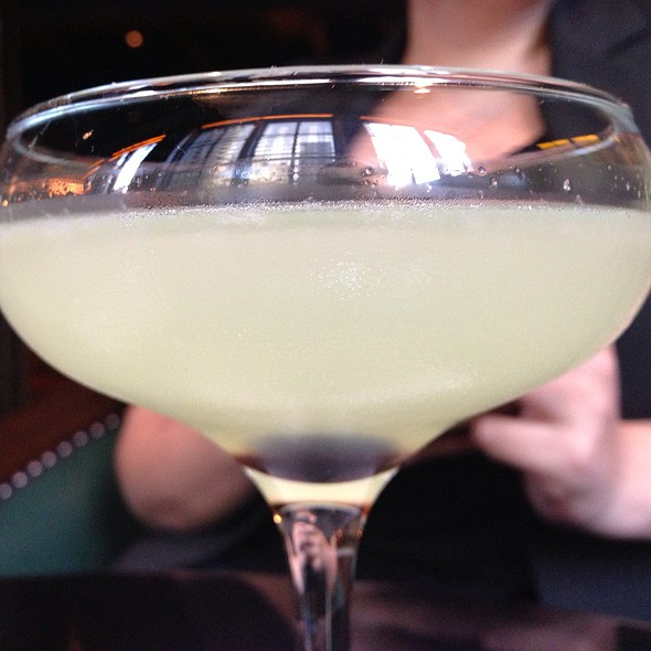 Herbal Fizz Cocktail - Tortoise Supper Club, Chicago, IL