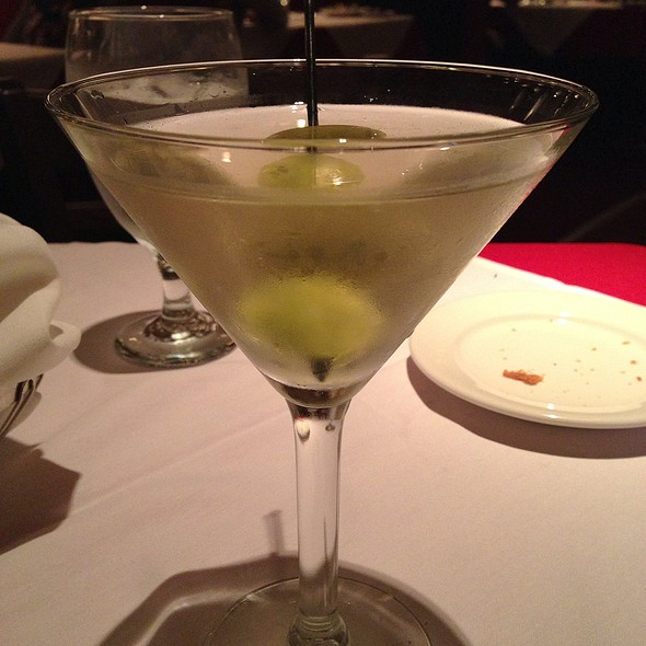 Martini - Petterino's, Chicago, IL