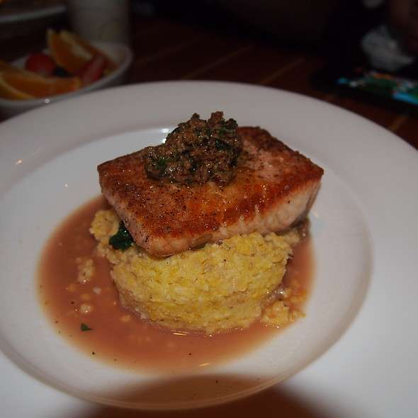 Seared Salmon - The Boathouse at Rocketts Landing, Richmond, VA