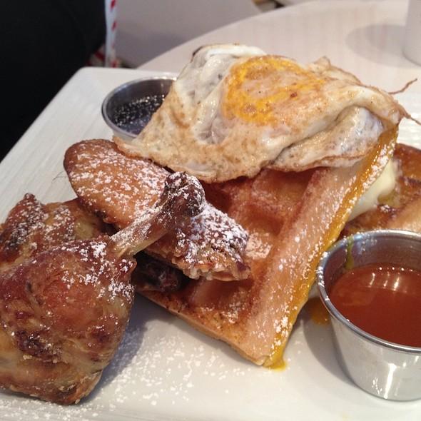 Chicken and Waffles - Sugar and Plumm, New York, NY