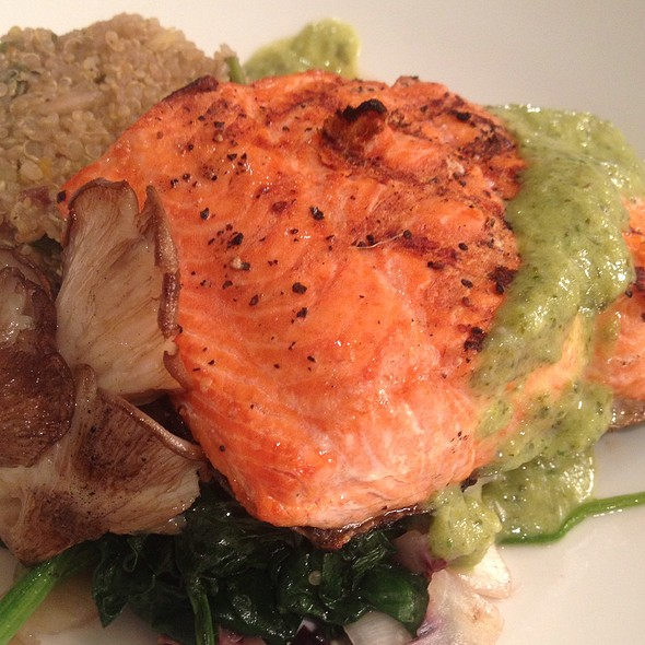 Wild Sockeye Salmon With Quinoa - Lexx Restaurant, Lexington, MA