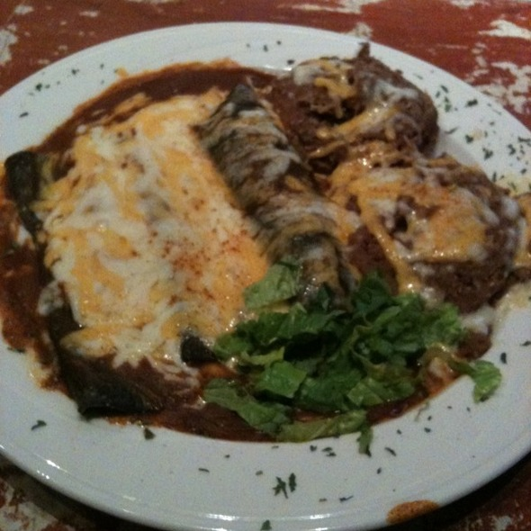 Blue Corn Enchiladas - Las Brisas Southwest Steakhouse, Lubbock, TX
