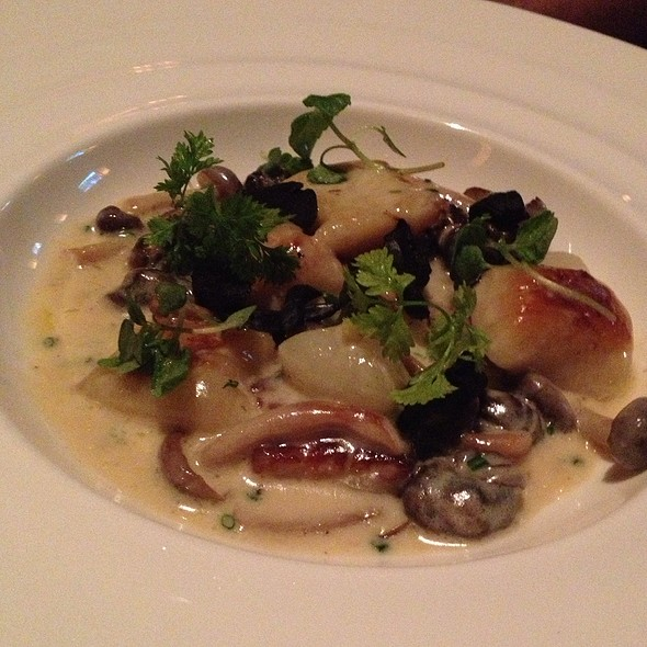 Escargot Gnocchi - Bull & Bear Steakhouse, Orlando, FL