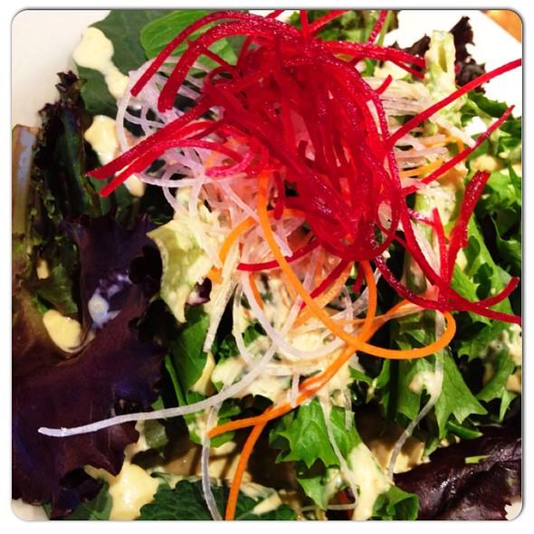 garden salad - Kanpai - Third Ward, Milwaukee, WI