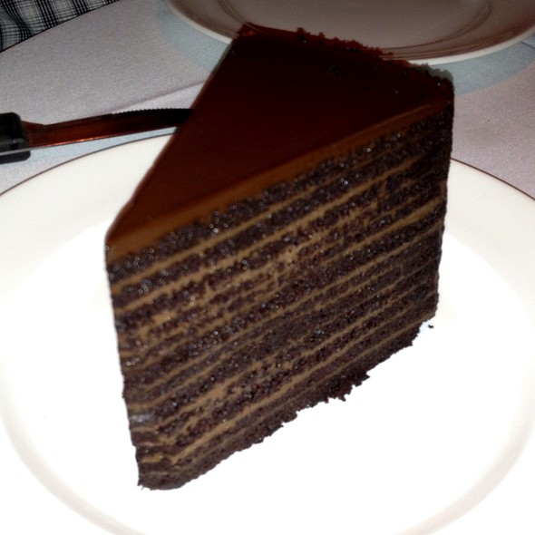 24 Layer Chocolate Cake  - Strip House - Las Vegas, Las Vegas, NV
