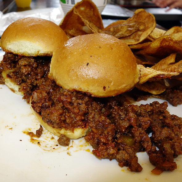 Mini Sloppy Joe - Fireplace Inn, Chicago, IL