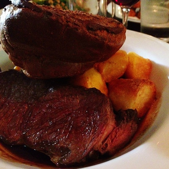 Roast Sirloin  - The Drapers Arms, London