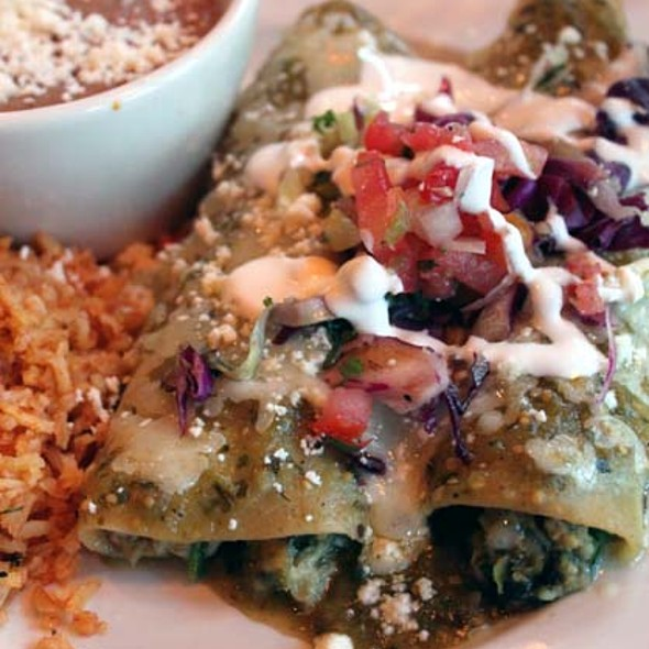 Crab Enchiladas - Ortega's  A Mexican Bistro, San Diego, CA