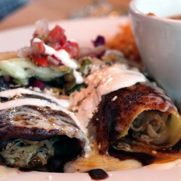 Chicken Mole Enchilada - Ortega's  A Mexican Bistro, San Diego, CA