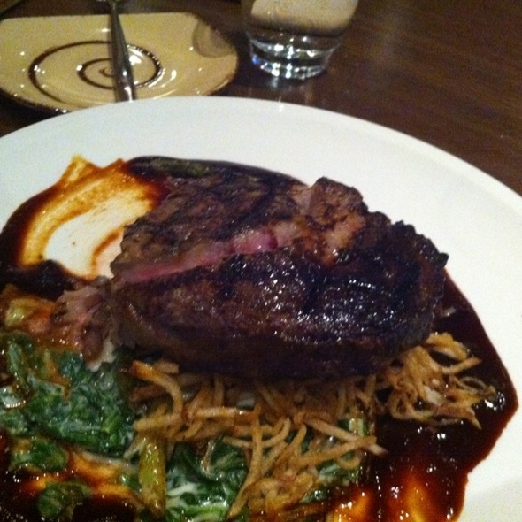 Ribeye Steak - Ten22, Sacramento, CA