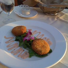 Crab Cakes - Vigilucci's Seafood & Steakhouse, Carlsbad, CA