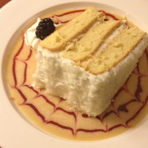 Coconut Cake - Rocky River Grille, Concord, NC