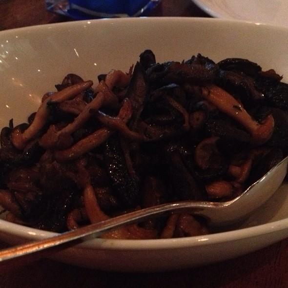 mushrooms - Rick Moonen's RM Seafood, Las Vegas, NV