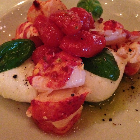 Lobster Caprese - RPM Italian, Chicago, IL