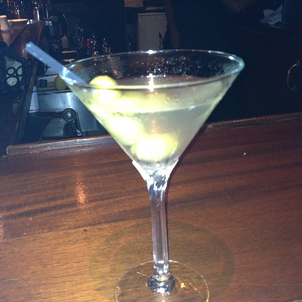 Dirty Grey Goose Martini - Café Routier, Westbrook, CT