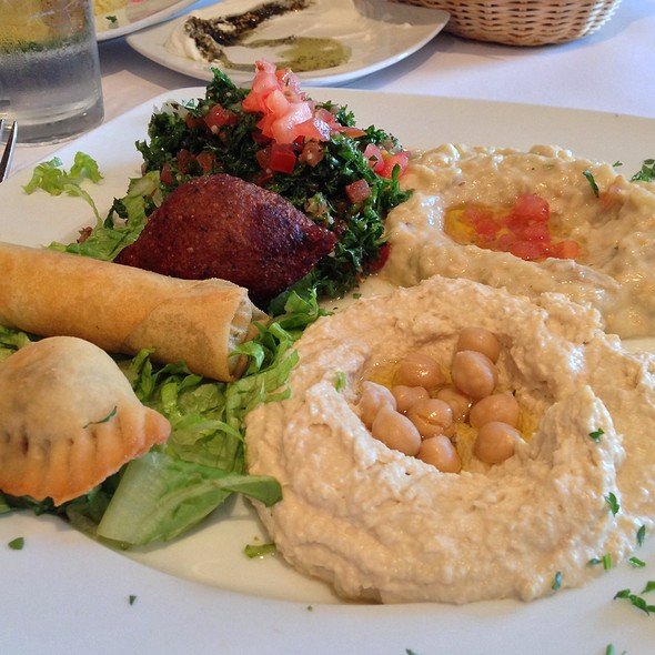 Mezze For One - Tannourine, San Mateo, CA