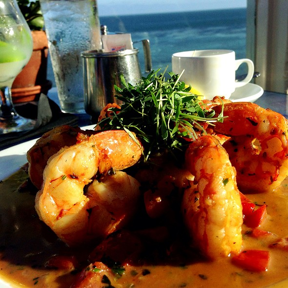 Morrocan Shrimp - Geoffrey's Restaurant, Malibu, CA