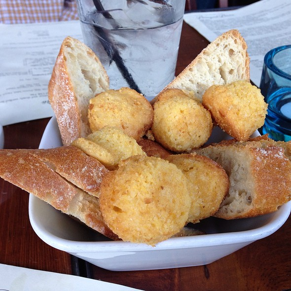 Sliced Bread & Corn Bread Muffins - Boneyard Bistro, Sherman Oaks, CA