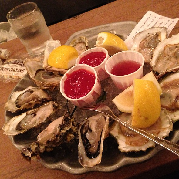 Assorted Oysters - Grand Central Oyster Bar, New York, NY