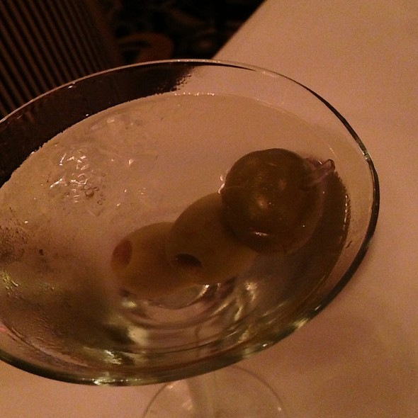 Ketel One Martini - Nero's Italian Steakhouse, Atlantic City, NJ