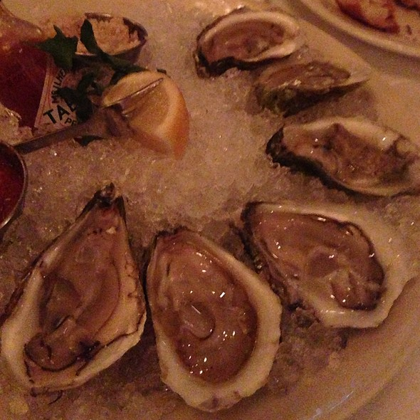 Oysters - Nero's Italian Steakhouse, Atlantic City, NJ