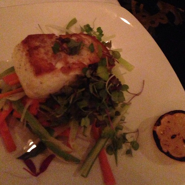 Steamed Halibut - Nero's Italian Steakhouse, Atlantic City, NJ