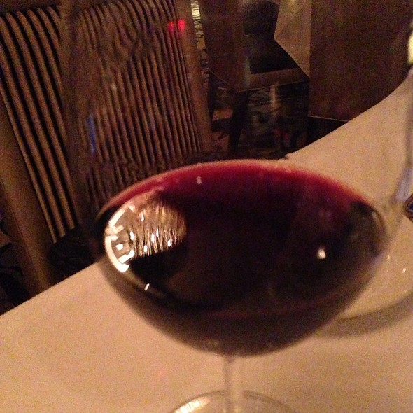 Tuscan Red Wine - Nero's Italian Steakhouse, Atlantic City, NJ