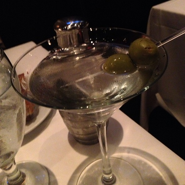 Vodka Martini - Eddie V's - Scottsdale Quarter, Scottsdale, AZ