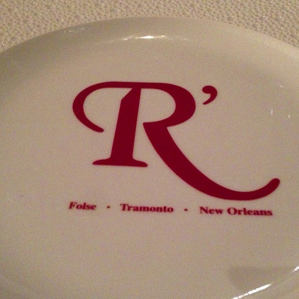 The Plate - Restaurant R'evolution, New Orleans, LA
