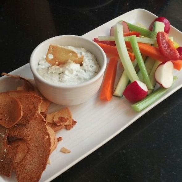 Benedictine Spread w/ Crudités and Bagel Chips - Sway - Hyatt Regency Louisville, Louisville, KY