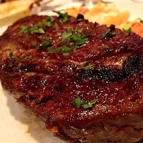 Bone-in Rib Eye Steak - Eddie V's - Scottsdale Quarter, Scottsdale, AZ