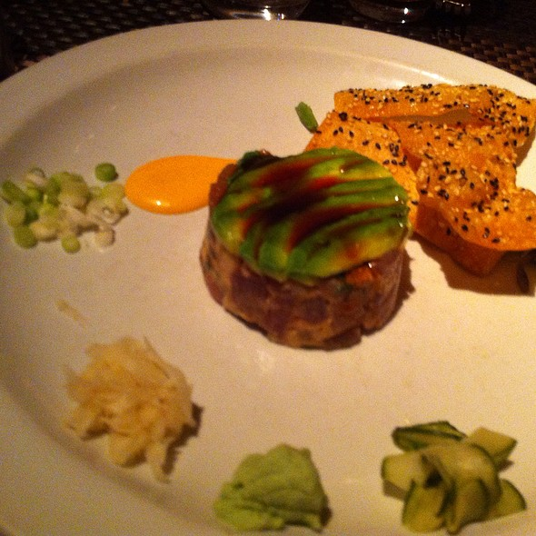 Tuna Tartare with Avocado - Wolfgang Puck Bar & Grill, Las Vegas, NV