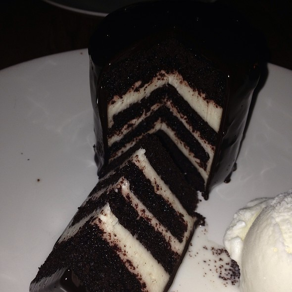 Devil's Food Layered Cake - Beauty & Essex- New York, New York, NY