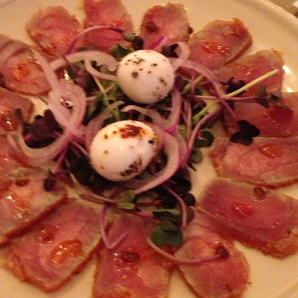 Rum-Cured Yellowfin Tuna - Carmo, New Orleans, LA