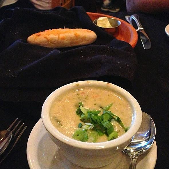 soup and bread - Bastien's Restaurant, Denver, CO
