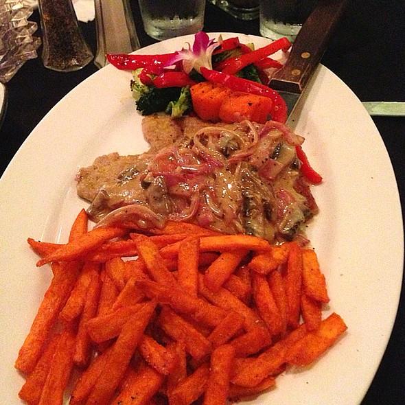 Veal Marsala - Bastien's Restaurant, Denver, CO