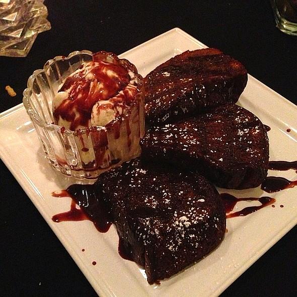 Black Russian Cake Made With Ice Cream - Bastien's Restaurant, Denver, CO