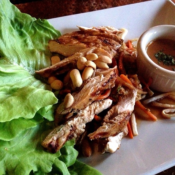 Thai Lettuce Wraps - Belvedere Inn Restaurant and Bar, Lancaster, PA