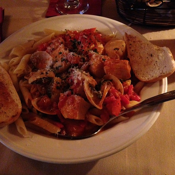 Seafood Bouillabaisse Over Penne - Peppercorn Grille, Big Bear Lake, CA