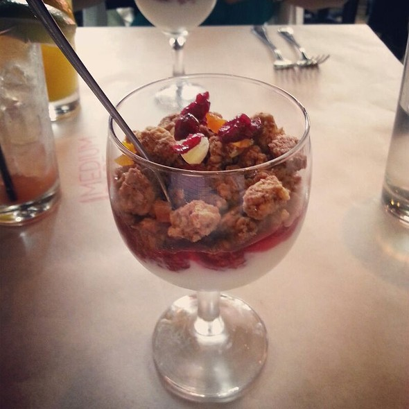 Vanilla Yogurt Parfait - Medium Rare - Cleveland Park, Washington, DC