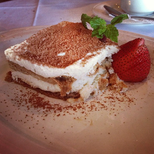 Tiramisu - Caffe Luna Rosa, Delray Beach, FL