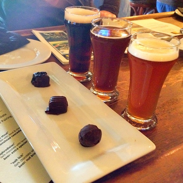 Chocolate & Beer Tasting - Spinnakers Gastro Brewpub, Victoria, BC