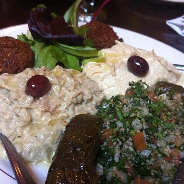Vegetarian platter - Mazzat, Brooklyn, NY