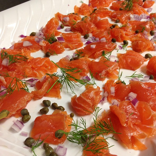 Smoked salmon - AquaTerra Grille, Pearl River, NY