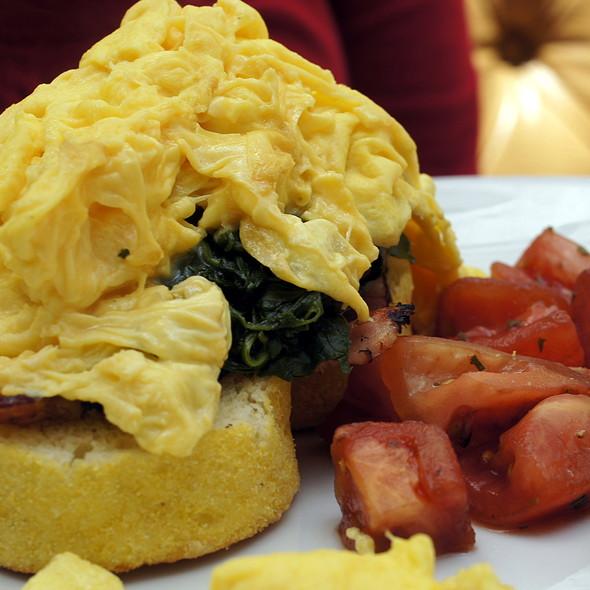 Popeye Eggs - Sarabeth's TriBeCa, New York, NY