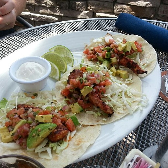 fish tacos - Bentwood Tavern, New Buffalo, MI