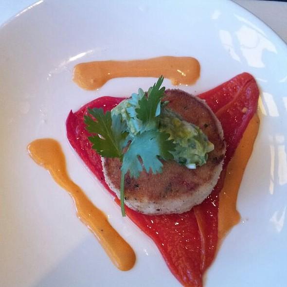 crab cake - Bayside Restaurant, Newport Beach, CA
