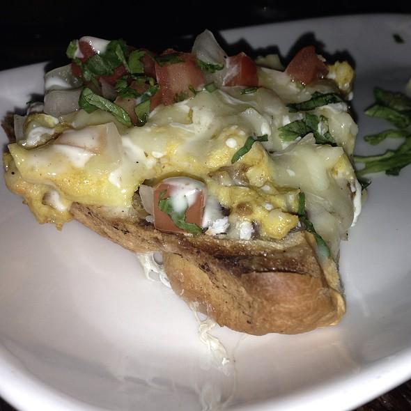 Chorizo & Egg Mollete - El Centro D.F. on 14th Street, Washington, DC