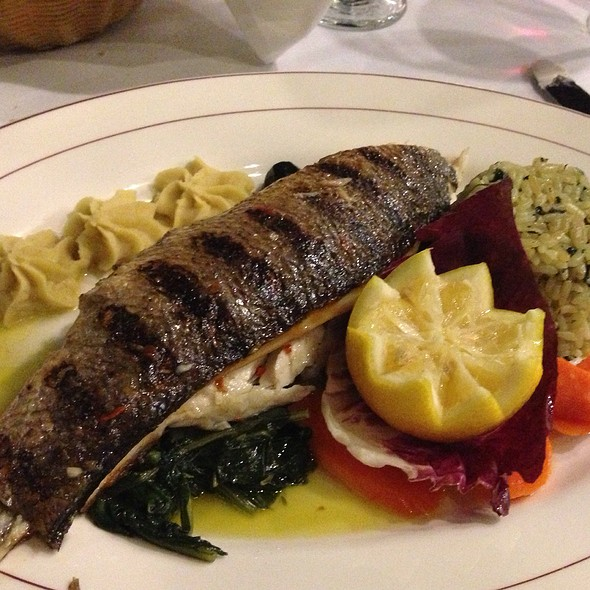 Bronzini With Lemon And Spinach - Logan Inn, New Hope, PA